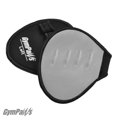 grey workout gloves