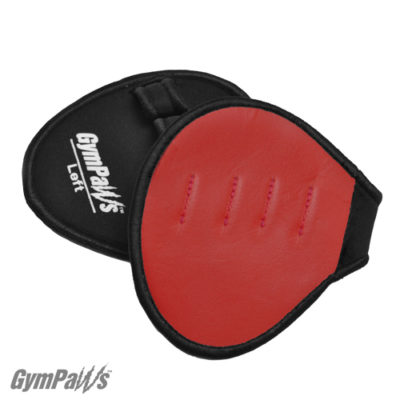 red workout gloves