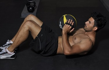 medicine ball workout for abs