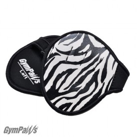 gym gloves zebra