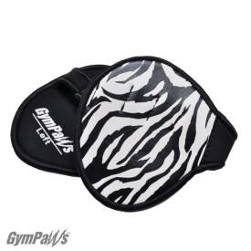 gym gloves zebra