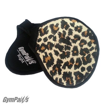 cheetah workout gloves, leather workout gloves, cheetah gym grips