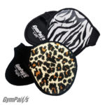 Lifting Grips, Leather Lifting Grips, Weight Lifting Grips, Cheetah - Zebra
