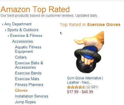 Fit Four Gloves, Workout Gloves Harbinger