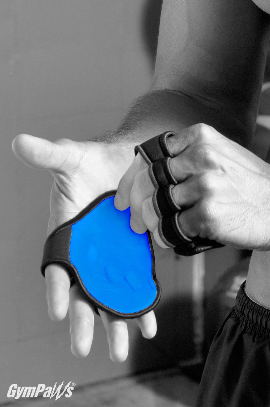 Blue Gym Gloves