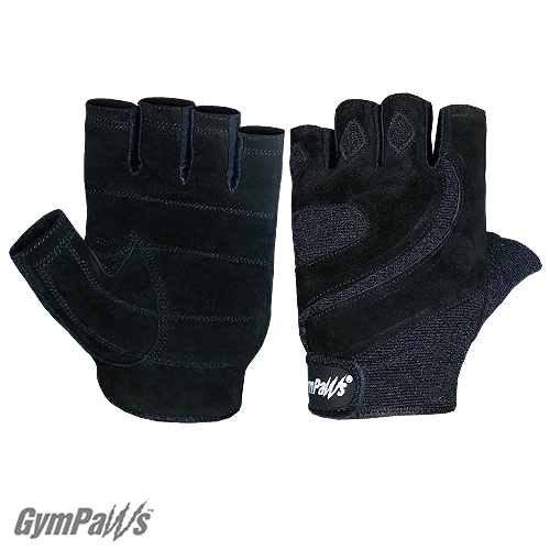 Suede Wash N Dry Leather Workout Gloves