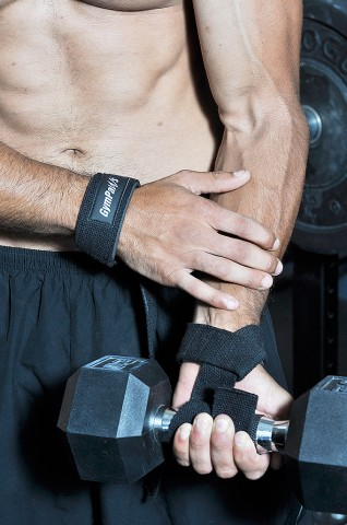 Weightlifting Straps used for strength training or crossfit.