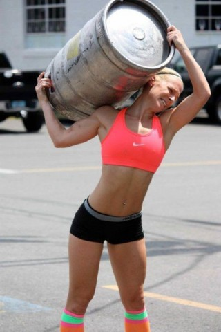 crossfit girls are hot, womens crossfit gloves