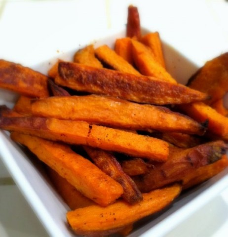Healthy Sweet Potato French Fries