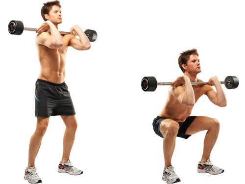 The best triceps and legs workout routine.