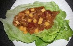 Lettuce wraps are great high protein - low fat meal options!