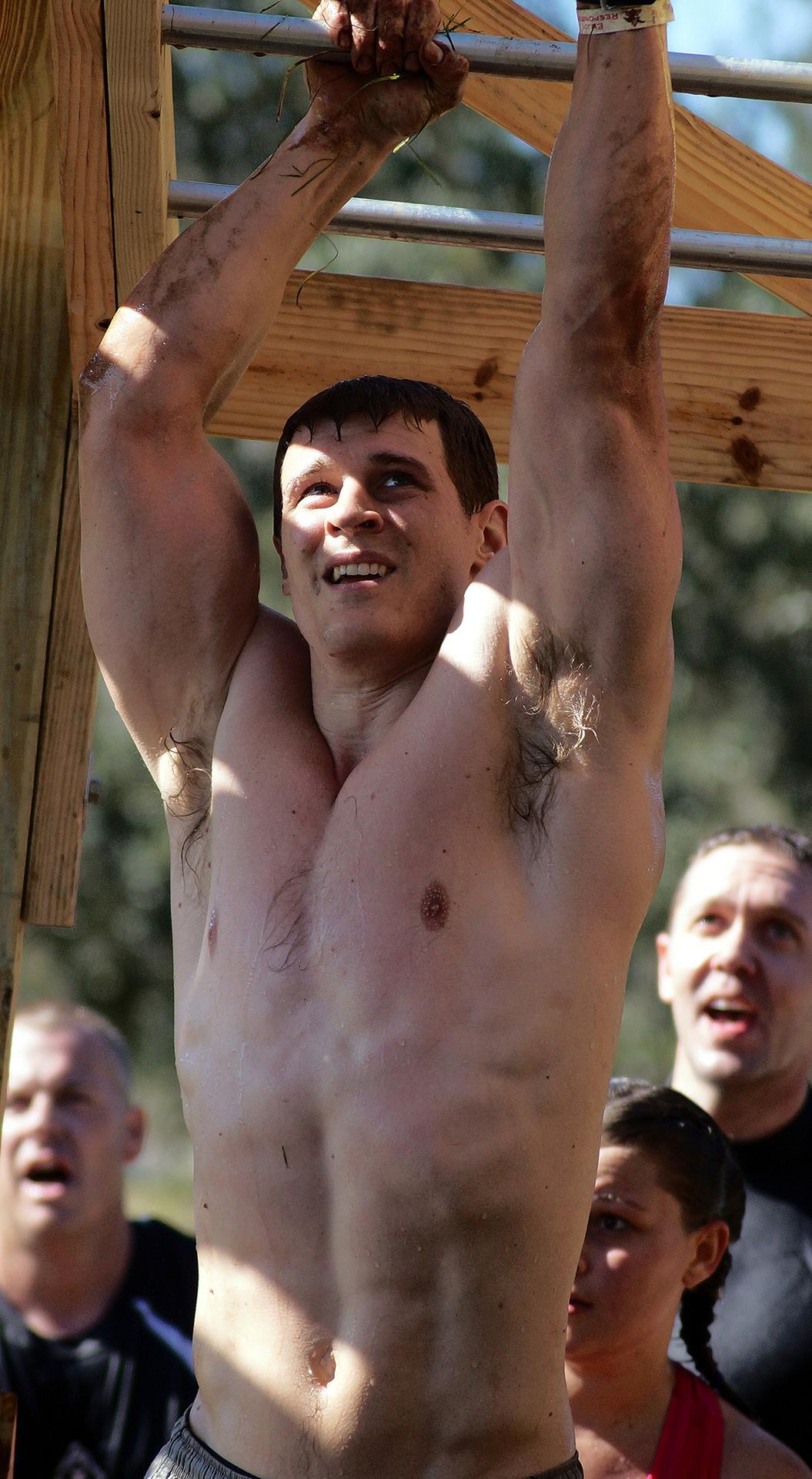 American Ninja Warrior Workout with monkey Bars
