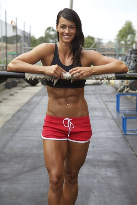 Crossfit Body Women Sexy Crossfit G...