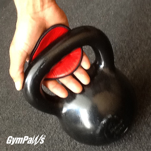 Red Gym Gloves by GymPaws