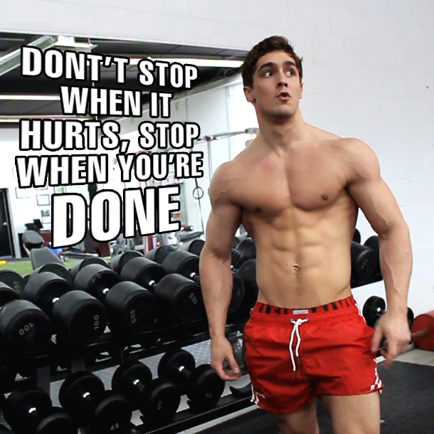 Workout Motivation - Health Belief Model