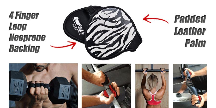Animal Print Weight Lifting Gloves