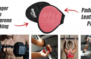 High Performance Pink Weight Lifting Gloves
