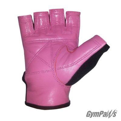 Swolemate-Workout-Gloves-Pink-Logo