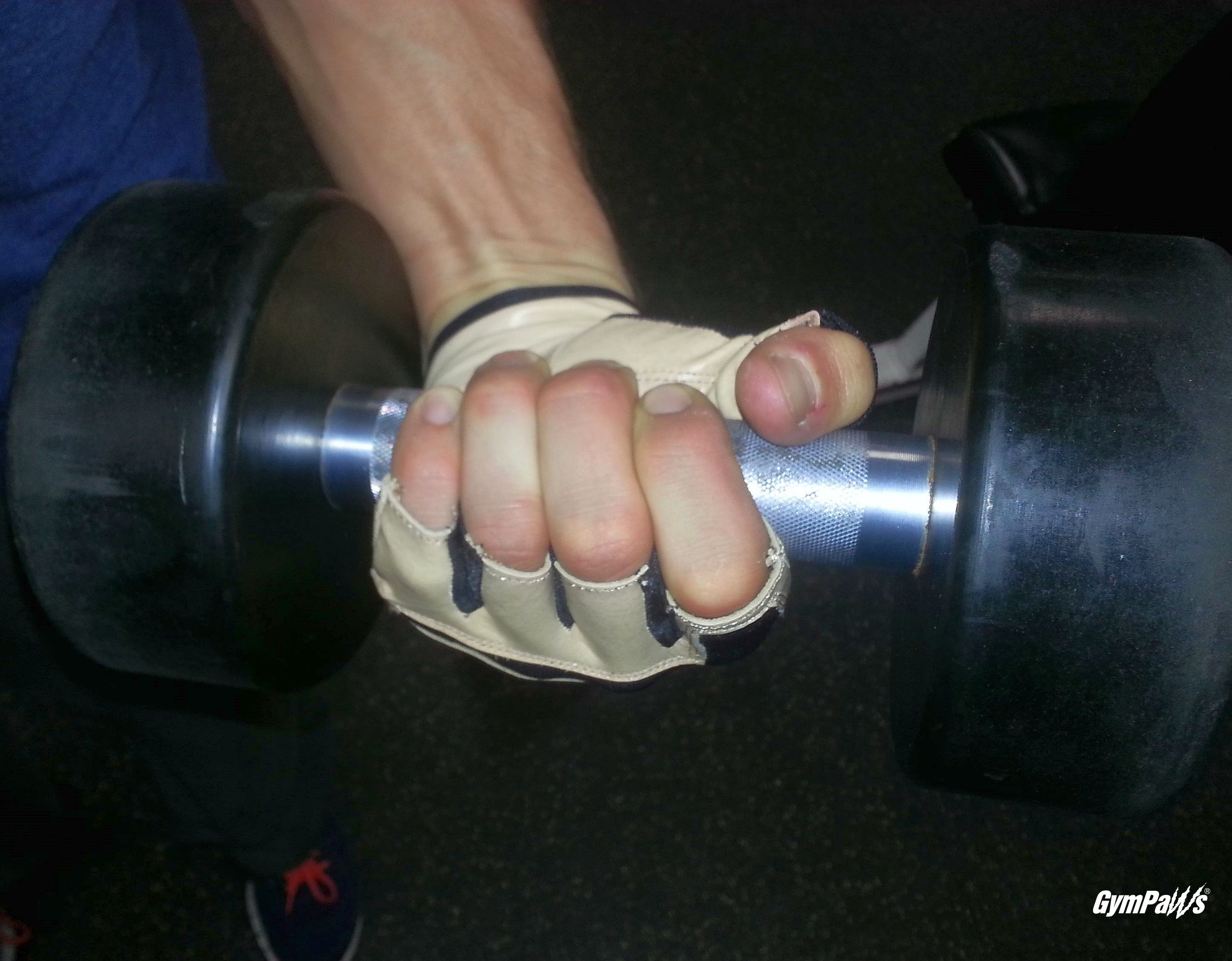 The Swolemate Gym Gloves - Natural