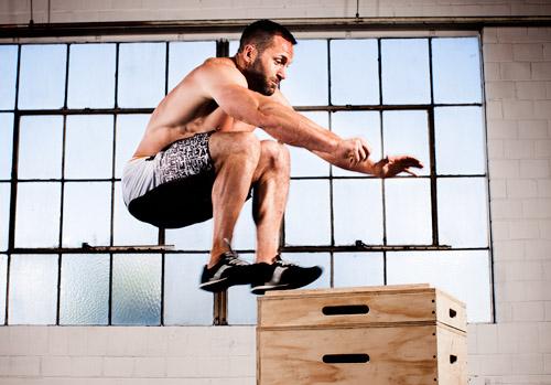 highest standing jump