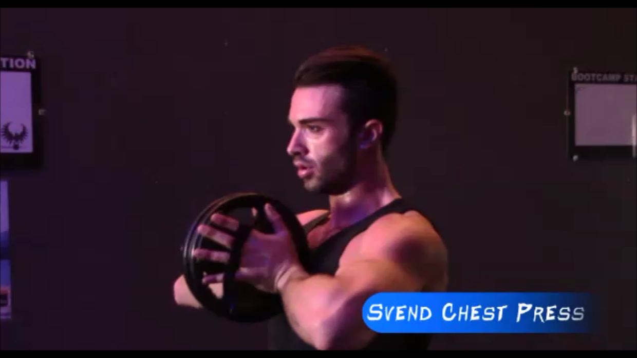 Svend Chest Press Exercise Video Demo