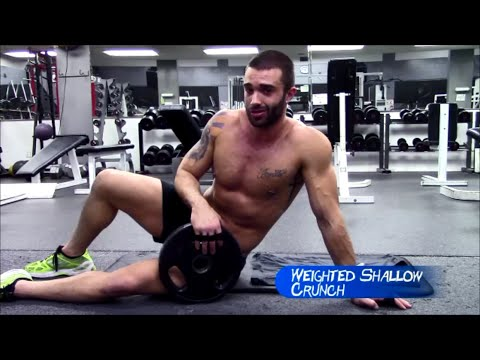Weighted Shallow Crunch | Adonis Belt Workout