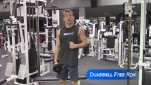 Dumbbell Free Row – A Better Back Exercise