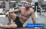Want Abs?  Then Thrust You Must! Leg Lift With Hip Thrust
