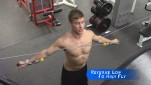 Reverse Cable Fly – Low to High ♠ Training for Pull Ups 101