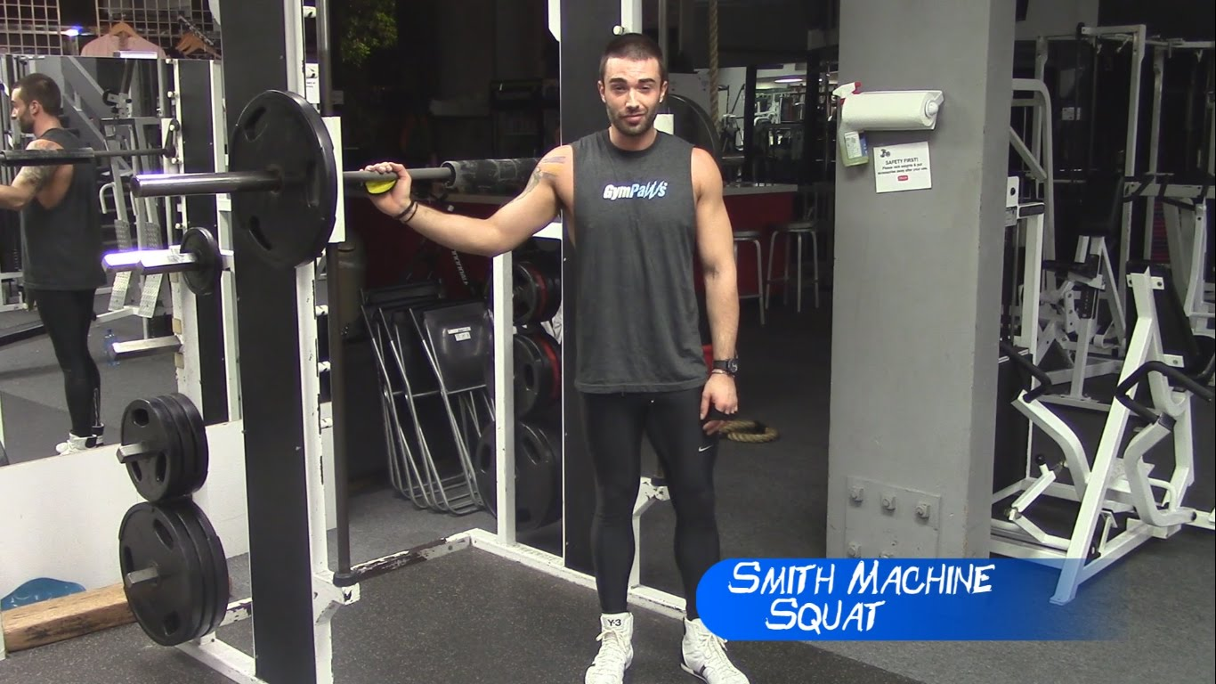 Smith Machine Squat – Frank's Booty Blast