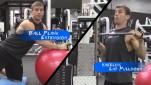Training For Pull Ups ♠ Kneeling Lat PullDown – Plank Extensions