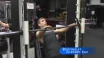 Bodyweight Inverted Row   Back Workout or Training For Pull Ups