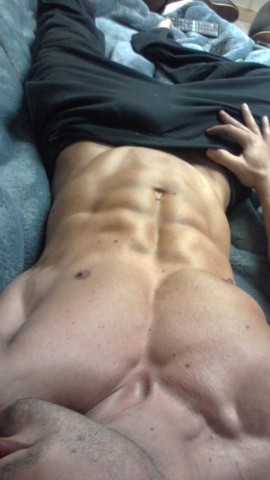 Oblique Crunches With Plate