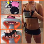 Pink Gym Gloves For Women