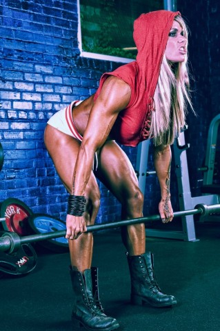 Gym Gloves Pink