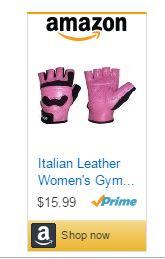 Best Gym Gloves Pink