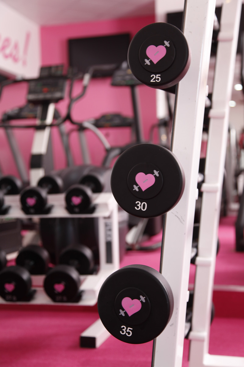 Pink Gym Gloves for Girls