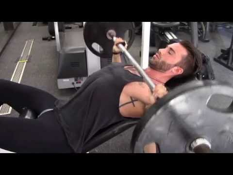 Barbell Incline With Bench Press Gloves