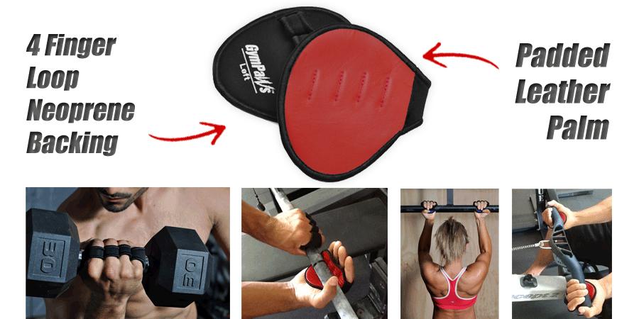 Weightlifting Grip Pads