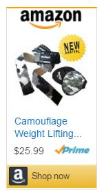 Camo Lifting Gloves