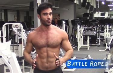 Gym Gloves For Battle Ropes Workout