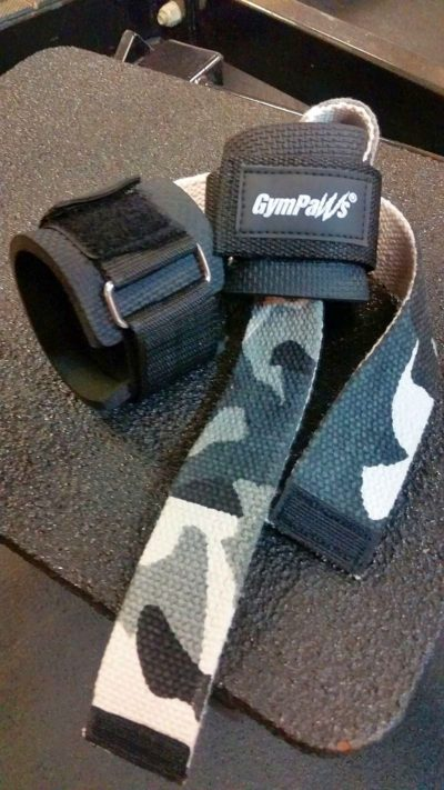Padded Deadlift Straps For Weightlifting
