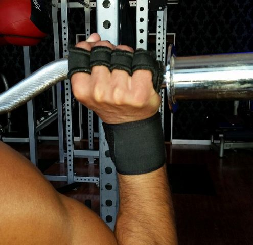 Lifting Grips Wrist Support