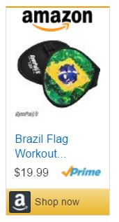 Brazil Flag GymPaws