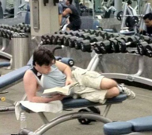 Texting While Weightlifting