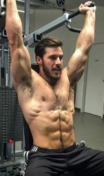 Hot Crossfit Guys WOD And Training Gloves