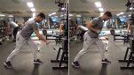 Shotgun Row Exercise for Lats