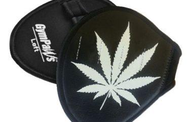 Pot Leaf Workout Gloves