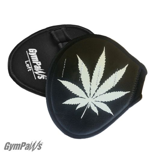 Pot Leaf Workout Gloves