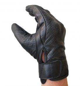 BikerPaws Leather Motor Cycle Gloves
